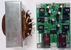 アナログ±両電圧ローノイズシリーズ電源基板