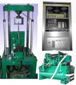 油圧サーボ式高速ロードシミュレーター加振試験機